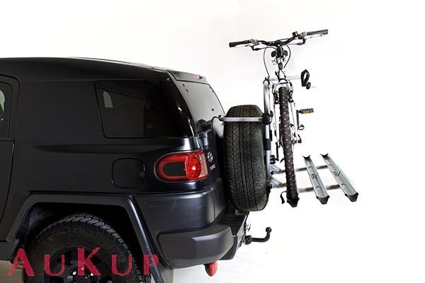 Fahrradträger auf Reserverad