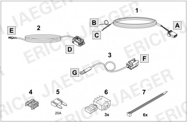 Erweiterung für Fahrzeuge ohne CAN Vorbereitung