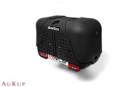 Hundebox Towbox Dog V2 Anhängerkupplung AHK schwarz