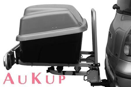 Gepäckbox Anhängerkupplung AUFRÜßTUNG zum Fabbri Fahrradträger