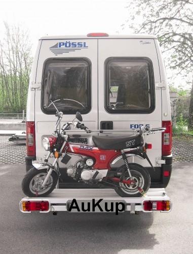 Motorradheckträger schiebbar 170kg Fiat Ducato X250 Kasten ( L1 - L4)