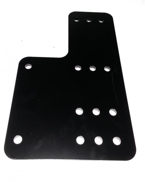 Rasterplatten Kurz 200mm Hoch x 450mm Lang L-Form