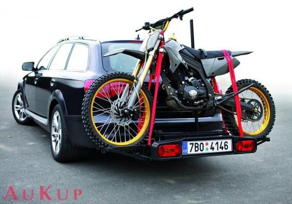Motorradträger auf AHK 100 kg, Kleinkraftrad, Trial, Cross